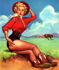 Rodeo Queen in training. #pinup #vintage #Western #cowgirl #fashion