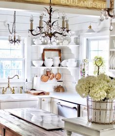 modern french country decor are offered on our website. Read more and you wont be sorry you did. Beautiful Kitchens, French Country House, Beautiful Kitchen Designs, Interior, Home Decor, Farmhouse Style Kitchen, French Country Rug, Kitchen Design, Country Home Decor