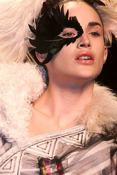 Pat McGrath work for Galliano FW 02: