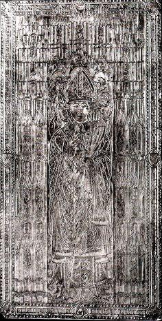 Andrzej z Bnina, biskup poznański, +1479; płyta z katedry poznańskiej Lithuania, Poland, Sculptures, Crown, Entertaining, Seasons, Commonwealth, Inspiration, Paintings