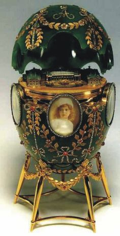 Peter Carl Fabergé Imperial Egg - Alexander Palace - 1908. Not all Faberge eggs are imperial. There are about 50 true imperial eggs, the ones which the emperors presented either to his wife or mother. Some of them are disappeared. Apart from these, Faberge made other eggs to non-royal families (Kelch, Yussupov, Rothschild etc). They're not imperial eggs