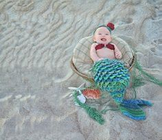 Looking for your next project? You're going to love Mermaid Photo Prop / Cocoon by designer Shannon K..