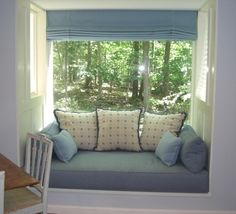 day bed window seat | ... the wall, Jane was able to create cozy window seat and reading nook