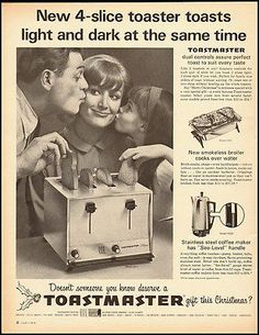 1965 Vintage ad for Toastmaster Toaster (040112)