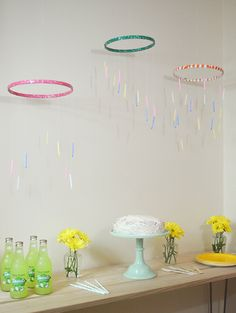 Birthday Candle Mobiles