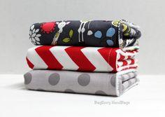 BagEnvy Handbags' Burp Cloths   Set Of 3  Giraffes in by BagEnvy, $21.00