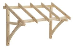 Flat roof porch canopy kit