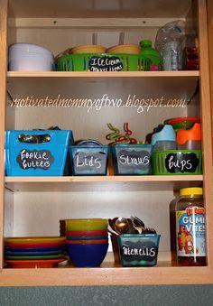 Organized kids cupboard SST#4