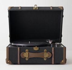 Vintage Trunk Digital Conversion Turntable