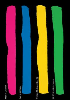 Niklaus Troxler, 1995 - Kronos Quartet
