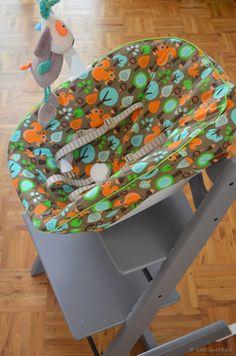 tripp trapp sitzkissen und r ckenlehne schnittmuster und fotoanleitung n hen pinterest. Black Bedroom Furniture Sets. Home Design Ideas