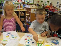 sand art water theme with Mr.Seahorse or add to Eric Carle unit