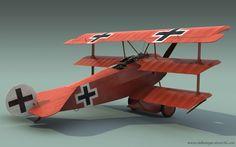 Fokker Dr.I Manfred von Richthofen