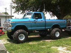 78 f-150 favorite truck ever!