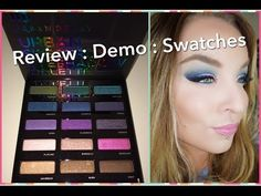 Review : Urban Decay Urban Spectrum Eyeshadow Palette for Holiday 2015 - YouTube