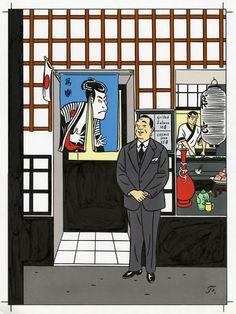 Floc'h Illustrateur L'homme dans la foule Actualité Archives
