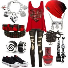 scene outfits for school – Yahoo Image Search Results Source by Cute Emo Outfits, Scene Outfits, Outfits For Teens, Teenage Outfits, Outfits 2016, Skater Outfits, Rock Outfits, Beach Outfits, Casual Outfits