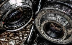 retro cameras #HDR