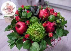 Fruit Basket Ideas Gift Veggies 48 Ideas For 2019 Smoothie Recipes With Yogurt, Fruit Salad Recipes, Fruit Smoothies, Fruit Cake Cookies Recipe, Palm Tree Fruit, Salad Packaging, Vegetable Bouquet, Paper Fruit, Christmas Salad Recipes