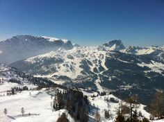 austria: nassfeld, carinthia, skiing!