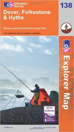 Dover, Folkstone and Hythe (OS Explorer Map): Amazon.de: Ordnance Survey: Warehouse Deals