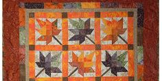 Go Vivid or Subdued in This Classic Autumn Quilt! Vibrant fall colors glow in this beautiful quilt. You'll have fun selecting a variety of autumn fabrics for this gem, whether they come from your stash, pre-cuts or new yardage. The version shown here by Luv2Sew4Fun was made from a pattern she constructed herself when the …