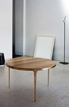 Daniel Barbera Bronze Table | http://www.yellowtrace.com.au/interview-daniel-barbera/