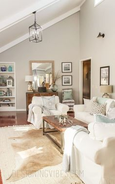 The Best Sherwin-Williams Neutral Paint Colors. The Best Sherwin-Williams Neutral Paint Colors -Passive. Farm House Living Room, Transitional Living Rooms, Living Room Colors, Living Room Transformation, Coastal Living Rooms, Living Room Grey, Living Room Wall Color, Room Wall Colors, Living Decor