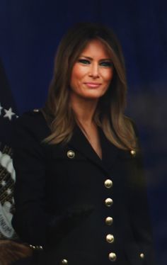 Fashion Notes: Melania Trump Embodies American Sportswear with European Attitude Hello everyone, we share the fail situations that are reflected in the cameras where everyone laughs and is surprised. You can reach everything about Fail from our site. Fashion Notes: Melania Trump Embodies American Sportswear with European Attitude most popular fail status. Don't forget to follow us on pinterest.  Fashion Notes: Melania Trump Embodies American Sportswear with… #summerdressforladies Carla Bruni, Alex Wong, Piercings, Military Style Coats, Herringbone Coat, Trump Is My President, Birthday Fashion, First Lady Melania Trump, Portraits