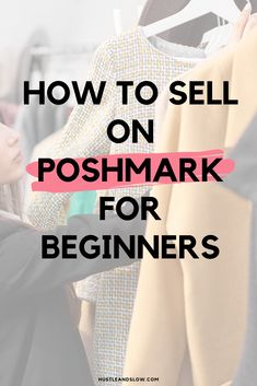 Selling Used Clothes Online, Selling Online, Ways To Earn Money, How To Make Money, Selling On Poshmark, How To Sell On Poshmark, How To Sell Clothes, Craft Business, Business Ideas