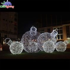 Colorful Commercial Outdoor Christmas Decoration Motif Christmas Ball Light, Find Details about Christmas Ball Light, LED Holiday Lights from Colorful Commercial Outdoor Christmas Decoration Motif Christmas Ball Light - Dongguan Obbo Lighting Co. Commercial Outdoor Christmas Decorations, Outside Christmas Decorations, Hanging Christmas Lights, Holiday Lights, Light Decorations, Holiday Decor, Christmas Lights Outside, Xmas Lights, 3d Christmas