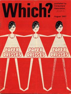 Which, August 1967 (Paper dresses)
