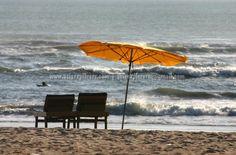 Beach parasols, Kuta Beach