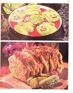The Suppertime Delights Are Varied    Good Housekeeping's Suppertime Cookbook, 1971    WTF x 2.