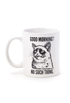 Ha Ha I need this!!  Good Morning Coffee Mug | FOREVER21 #Accessories