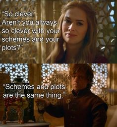 Cersei and Tyrion - Game of Thrones