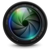 Shutter : camera photo lens with shutter.