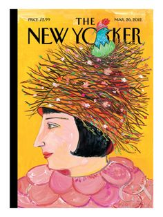 The New Yorker Cover - March 26, 2012 Poster Print by Maira Kalman at the Condé Nast Collection