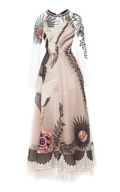 Temperley London Opera Sequined Embroidered Tulle Gown My Bridesmaids can wear whatever they want to wear. Pretty Outfits, Pretty Dresses, Beautiful Outfits, Londoner Mode, Donia, Look Fashion, Fashion Design, Tulle Gown, Silk Gown