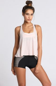 Size S Very Soft Pale Yellow Waffle Cotton Blend Tank Shop For Cheap Omgirl