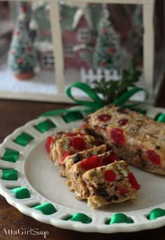 Christmas Icebox Fruit Cake Recipe