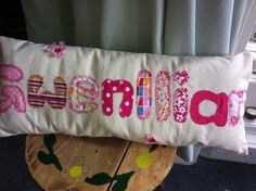 New Personalised Name keepsake cushions ~ for boys & girls~perfect for christmas