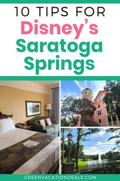 Planning a trip to Disney World? Staying at one of the Saratoga Springs villas? This Disney Vacation Club resort hotel is beautiful, close to Disney Springs Saratoga Springs Disney, Saratoga Springs Resort, Springs Resort And Spa, Disney Springs, Disney World Hotels, Disney World Theme Parks, Disney Resorts, Disney Vacations, Best Family Vacations