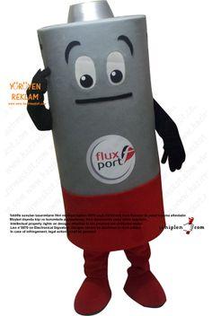 Battery mascot Mascot Costumes, Proposal