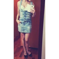 #saleondepop #vendita #attebasileattebasile #jeans #dress #jeans #sale #seconhand