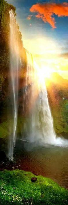 Wow dieser Wasserfall