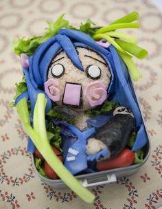 Anime girl bento