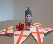 St Georges Day bunting