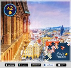 I've just solved this puzzle in the Magic Jigsaw Puzzles app for iPad. Ipad, Image Storage, Big Ben, Taj Mahal, Louvre, Jigsaw Puzzles, Building, Magic, Movie Posters