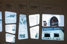 View Master idea. Images projected onto the wall. SAMSUNG INNOVATION MUSEUM by newtype imageworks, via Behance
